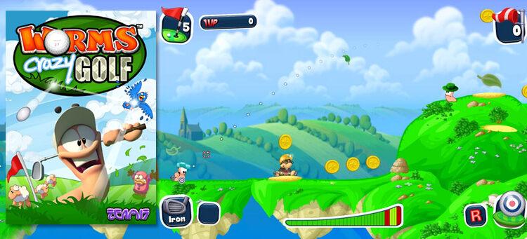 Worms Crazy Golf: un jeu basé sur la série Worms