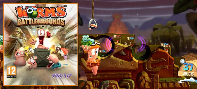 Worms battleground jeux video